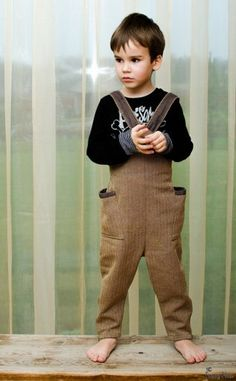 Unisexs/ Boys / Girls Eco / Organic Cotton Jumpsuit by FancyFlax, $61.00