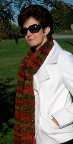 Autumn Scarf by RobbieNae on Etsy, $15.00