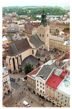 World Heritage Postcards  L'viv – the Ensemble of the Historic Centre, Ukraine
