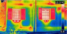 Termografia: Isolamento a cappotto termico