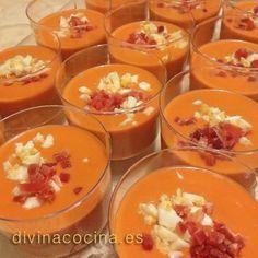 Salmorejo de manzana » Divina CocinaRecetas fáciles, cocina andaluza y del mundo. » Divina Cocina