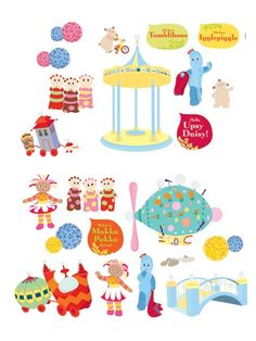 in the night garden stickers - Google Search