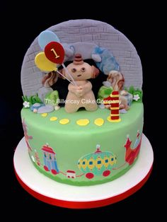 Maka paka night garden cake