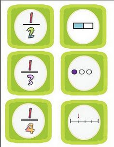 Fractions Concentration Game