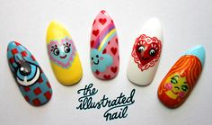 Meadham Kirchhoff spring/summer 12 inspired nailsSneak peek of the the spring/summer 12 catwalk collections exhibition nail sets which will be displayed at Joyce in Hong Kong from 2nd May!