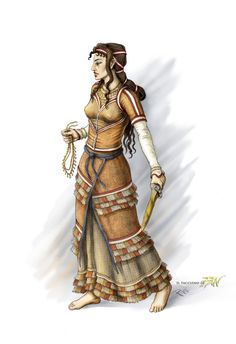 Clitennestra/ Clytemnestra, also spelled Clytaemnestra, in ancient Greek legend, was the wife of Agamemnon, ruler of the Ancient Greek kingdom of Mycenae or Argos. Mycenaean, Minoan, Ancient Art, Ancient History, Character Inspiration, Character Art, Writing Inspiration, Character Concept, Atlantis