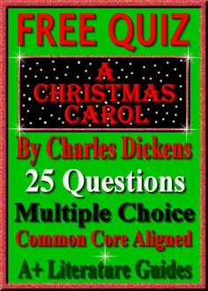 Free quiz the best christmas pageant ever 15 multiple choice a christmas carol free quiz 25 questions multiple choice common core aligned middle school literatureteaching fandeluxe Gallery