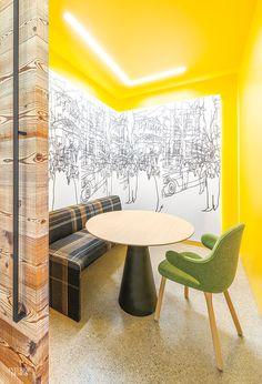 Scandinavia Meets San Francisco in the Nokia Technologies Office by Gensler Interior Design Magazine, Office Interior Design, Office Interiors, Interior Design Inspiration, Interior Decorating, Modern Interior, Exterior Design, Google Glass, Technology Design