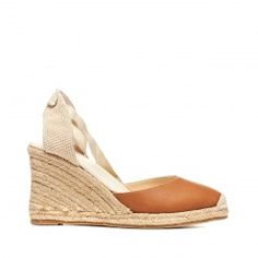 Tall Leather Wedge - Soludos - Wedges