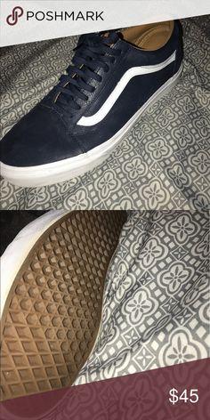 5c1a0354f31a08 Navy Blue Vans. Navy Blue VansSize 11 ShoesGuyThat ...