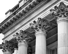 Columns at Marble House, July, 2009