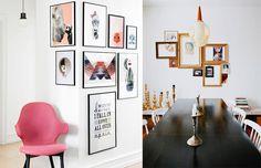 Como pendurar quadros na parede, dicas e truques para você não errar na composição!