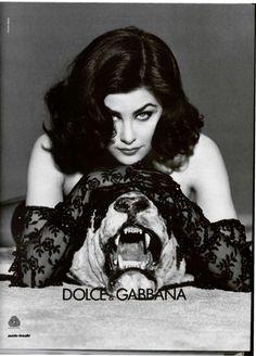 Classic Dolce & Gabbana, Sherilyn Fenn by Steven Meisel 1991