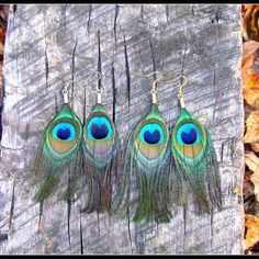 #Natural #peacock #Feather #earrings . Add Flare with any outfit! For any day or occasion.  Young #wild and Free  Find them in my shop link in my bio :) #love #beauty #Beautiful #autumn #girl #boho #bohemian #blessed #style #gypsy #wanderlust #hipster #hippie #california #fashion #bohochic #nature #featherearrings #instagood #fashionista #highsociety #fashionblogger  #grunge #goals