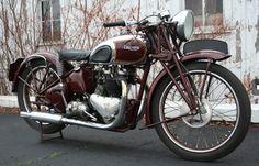 The ex-Steve McQueen, restored by Bud Ekins, 1938 Triumph Speed Twin