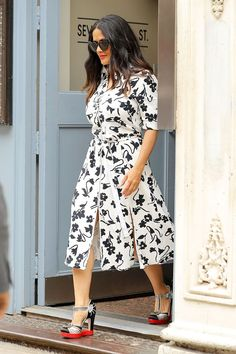 Everything Else Can Wait: You Need to See Salma Hayek's Shoes via @WhoWhatWear