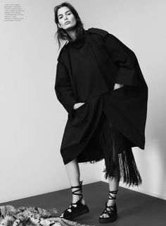 Intermission Magazine Editorial SS 2014 - Ophelie Guillermand by Paul Wetherell