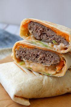De her wraps ligner ikke en Big Mac, men smagen er meget tæt på! Hjemmelavet Big Mac sauce gør bare det hele!