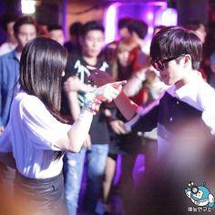 sungjae and joy Wgm Couples, Kpop Couples, Cute Couples, Yook Sungjae, Btob, South Korean Girls, Korean Girl Groups, Sungjae And Joy, Yongin