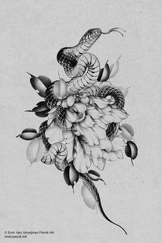Cover Up Tattoos, Mini Tattoos, Leg Tattoos, Tattoo Drawings, Body Art Tattoos, Small Tattoos, Sleeve Tattoos, Snake Drawing, Snake Art