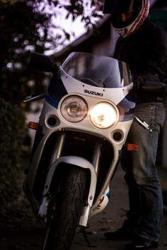 Burt Munro, Gsxr 1100, Retro Bike, Suzuki Gsx, Sportbikes, Mopeds, Motorcycle Bike, Street Bikes, Custom Bikes