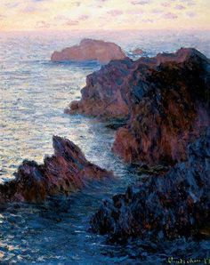 Monet.... :) Oh I miss the sea! Gorgeous colors