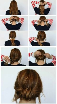 15 Super-Easy Hairstyles for Lazy Girls Who Can\'t Even | Hair ...