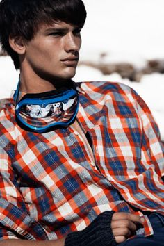 Simon Nessman Models H's Winter 2012 Looks