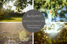Instantly download my new free Autumn Lightroom 5 presets to give your photos a punch and enhance the autumn tones.