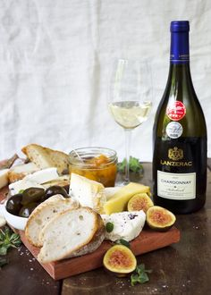 Cheeseboard paired with the Lanzerac Chardonnay Deli, Cheese, Homemade, Sweet, Food, Gourmet, Candy, Home Made, Essen