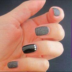 Bling Nail Art, Rhinestone Nails, Bling Nails, Swag Nails, Ring Finger Nails, Finger Nail Art, Diy Nail Designs, Simple Nail Designs, Popular Nail Art