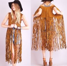SUEDE FRINGE JACKET - Google Search