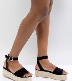 ASOS DESIGN Thea Espadrille Flatform Sandals - $35.00