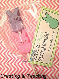 creating & teaching: Peep Pops! {and a FREEBIE}
