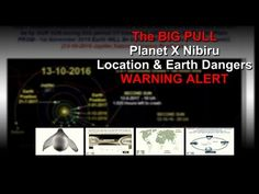 PLANET X The BIG PULL 🌎 Earth DANGER PERIOD Starts NOW Sept 2016 MUST WA...