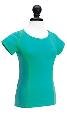 Moxie Cycling Womens Color Block Tee Jersey XLarge Aqua -- Want to know  more 502508ec1