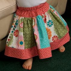Twirly Skirt - tutorial & PDF pattern