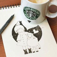<3 Starbuck's creativity