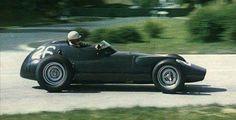 1957 French GP, Rouen-Les-Essart : Ron Flockhart, BRM P25 #26, Owen Racing, Retired (accident, lap 2). (ph: © LAT via fanpop.com)