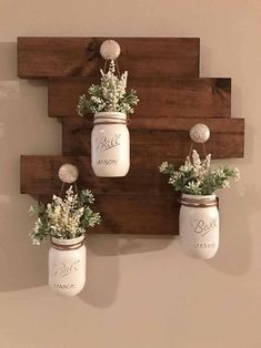 Diy Home Decor Rustic, Diy Home Decor On A Budget, Farmhouse Decor, Farmhouse Garden, Rustic Wall Decor, Farmhouse Ideas, Diy Bathroom Decor, Diy Wall Decor, Bedroom Decor
