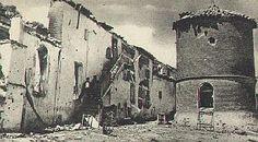 Batalla de Brunete, Madrid. El pueblo quedó destrozado.