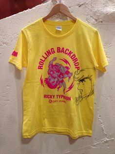ローリングバックドロップTシャツ(平松伸二先生の直筆サイン入り)