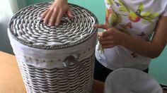 Корзины круглые бельевые «Маназиль»