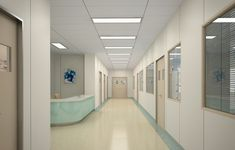 back at the hospital Hospital Anime, Hospital Door, General Hospital, Episode Interactive Backgrounds, Episode Backgrounds, Claire Temple, Interior Design Renderings, Corridor Design, Hospital Design