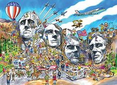 Cobble Hill Doodle Town: Mount Rushmore Jigsaw Puzzle, 10... https://www.amazon.com/dp/B00QQU0MXS/ref=cm_sw_r_pi_dp_OVuDxbREAT7JF