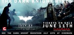 Get advance tix for The Dark Knight Rises and our Dark Knight Movie Marathon playing July 19!