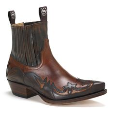 Sendra SE3241SANT Men's Python Mens Ankle Boots, Brown Ankle Boots, Western Boots, Cowboy Boots, Heel Touches, Georgia Boots, Buy Boots, Python, Chelsea
