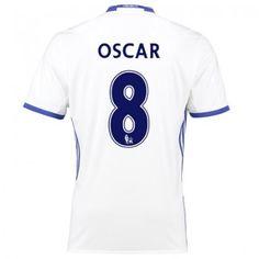 Chelsea 16-17 Oscar Emboaba 8 TRödjeställ Kortärmad  #Fotbollströjor