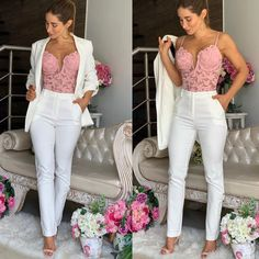 Classy Outfits, Beautiful Outfits, Cool Outfits, Casual Outfits, Fashion Outfits, Womens Fashion, Fashion Trends, Wedding Jumpsuit, Future Fashion