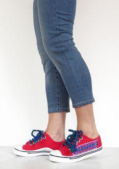 Sneakers - Custom Shoes - n° 4005 - un prodotto unico di ColoresDeSudamerica su DaWanda